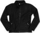 Santino Polarfleece jack Bormio Ladies in zwart