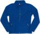 Santino Polarfleece jack Bormio Ladies in blauw